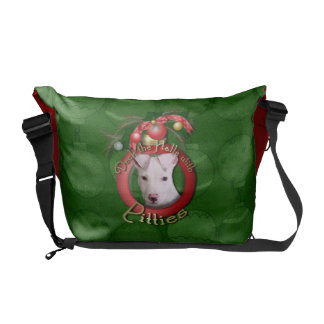 Christmas - Deck the Halls - Pitties - Petey Commuter Bag