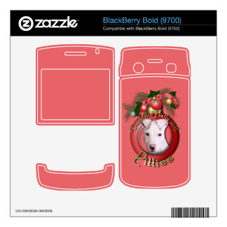 Christmas - Deck the Halls - Pitties - Petey BlackBerry Skin