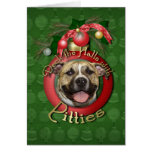 Christmas - Deck the Halls - Pitties - Tigger Cards
