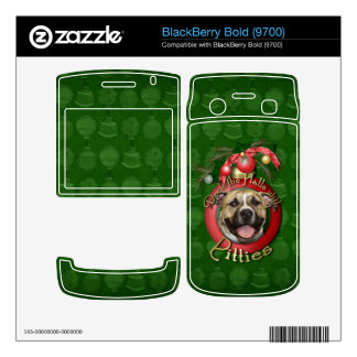Christmas - Deck the Halls - Pitties - Tigger Decals For BlackBerry
