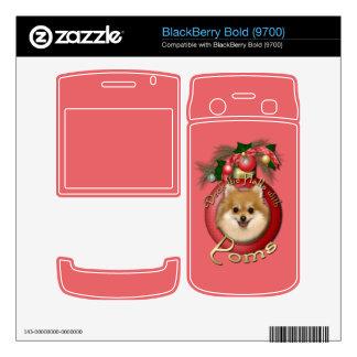 Christmas - Deck the Halls - Poms BlackBerry Skin