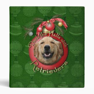Christmas - Deck the Halls - Retrievers - Mickey Binder