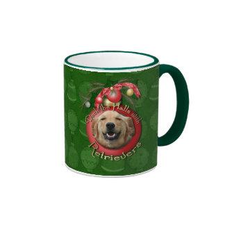 Christmas - Deck the Halls - Retrievers - Mickey Coffee Mugs