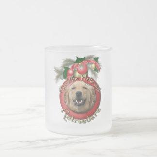 Christmas - Deck the Halls - Retrievers - Mickey Coffee Mug
