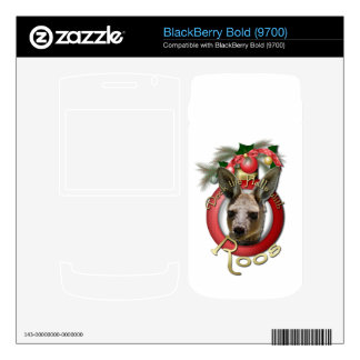 Christmas - Deck the Halls - Roos BlackBerry Bold Decals