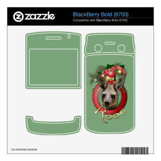 Christmas - Deck the Halls - Roos Decal For BlackBerry