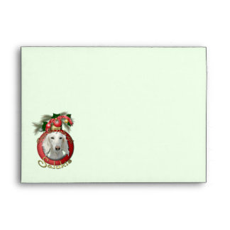 Christmas - Deck the Halls - Salukis Envelopes