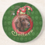 Christmas - Deck the Halls - Setters Beverage Coasters