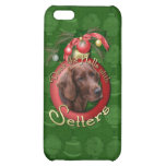 Christmas - Deck the Halls - Setters iPhone 5C Cover