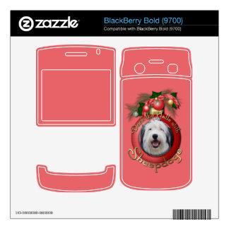 Christmas - Deck the Halls - Sheepdogs BlackBerry Skins