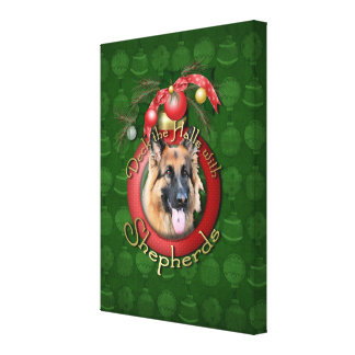 Christmas - Deck the Halls - Shepherds - Chance Gallery Wrap Canvas