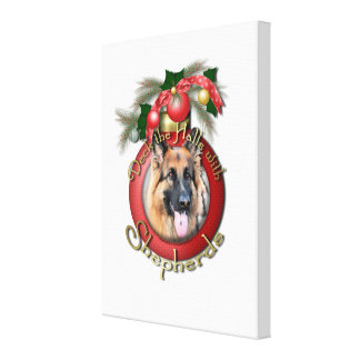 Christmas - Deck the Halls - Shepherds - Chance Gallery Wrapped Canvas