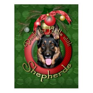 Christmas - Deck the Halls - Shepherds - Kuno Postcard