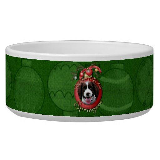 Christmas - Deck the Halls - Springers Pet Bowl