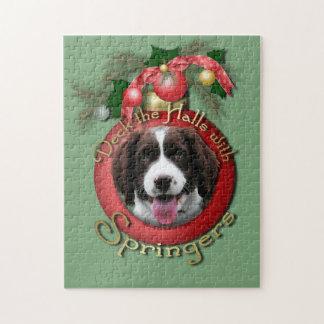 Christmas - Deck the Halls - Springers Puzzle
