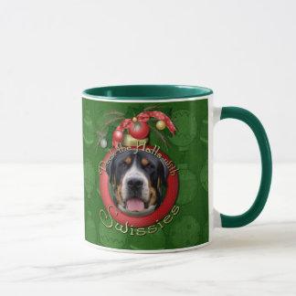 Christmas - Deck the Halls - Swissies Mug