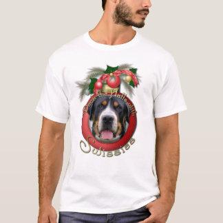 Christmas - Deck the Halls - Swissies T-Shirt