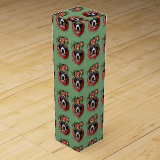 Christmas - Deck the Halls - Swissies Wine Boxes