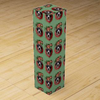 Christmas - Deck the Halls - Swissies Wine Gift Box