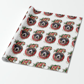 Christmas - Deck the Halls - Swissies Wrapping Paper