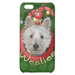 Christmas - Deck the Halls - Westies - Tank Cover For iPhone 5C