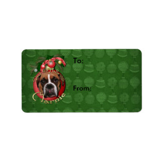 Christmas - Deck the Halls with Marnie Label