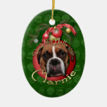 Christmas - Deck the Halls with Marnie Ornament