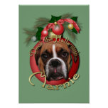 Christmas - Deck the Halls with Marnie Posters