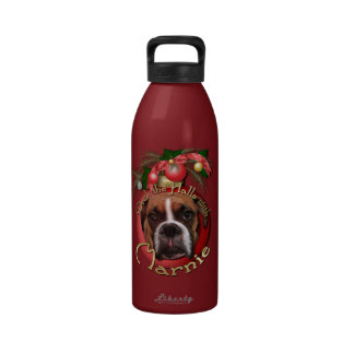 Christmas - Deck the Halls with Marnie Water Bottles