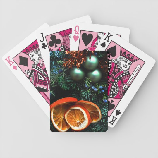 Christmas Decor Playing cards