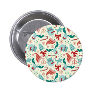 Christmas Decor - Santa, Raindeer, Snowman Buttons