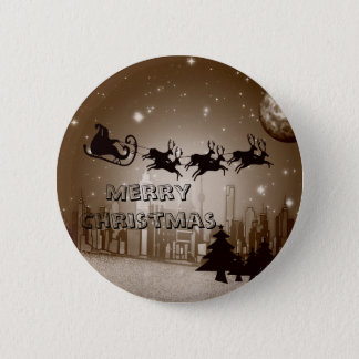 Christmas decoration button
