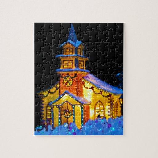 Christmas decoration church puzzle zazzle for Decoration crossword clue