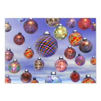 Christmas Decoration Group Card