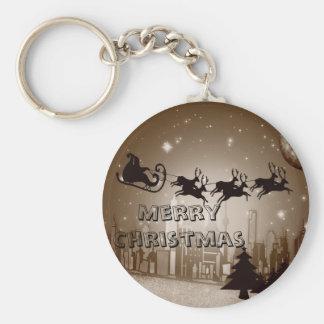 Christmas decoration keychain