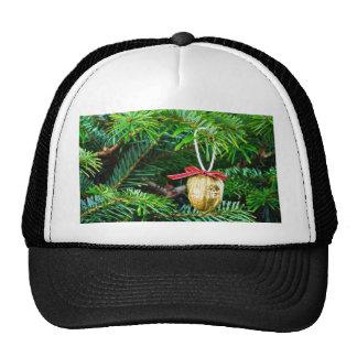 Christmas Decoration On The Tree Mesh Hats