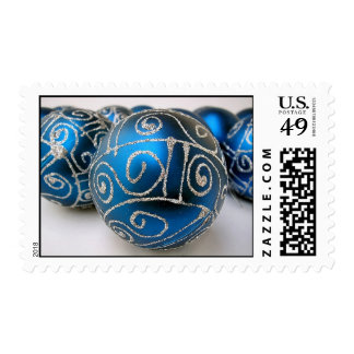 Christmas Decoration Postage Stamps