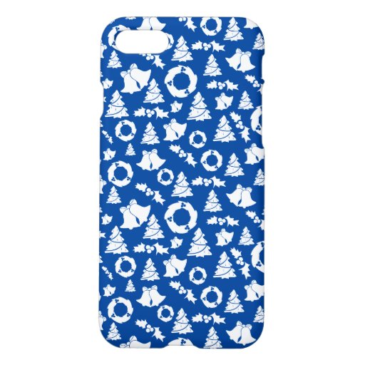 Christmas Decoration With Little Pieces iPhone 8/7 Case