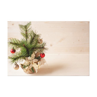 Christmas Decorations 3 Canvas Print