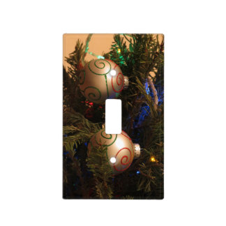Christmas Decorations 7 Light Switch Cover