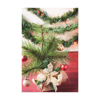 Christmas Decorations Canvas Print