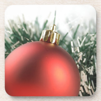 Christmas decorations drink coaster