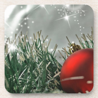 Christmas decorations coasters
