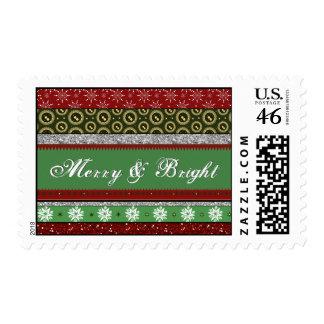Christmas Decorations Postage Stamp - Customizable