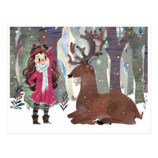Christmas Decorations Postcard