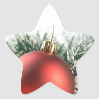 Christmas decorations star sticker