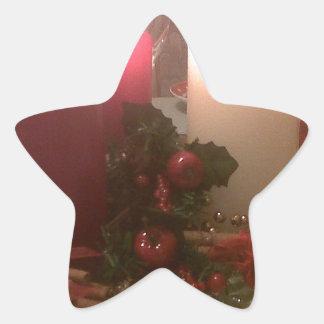 Christmas Decorations Star Sticker