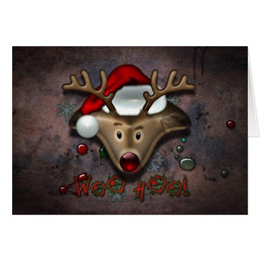 Christmas_deer Felicitación