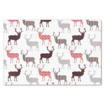 Christmas Deer / Reindeer Decorative Pattern Tissue Paper