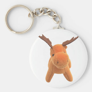 Christmas Deer transparent PNG Keychain